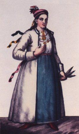 одяг шляхтянки