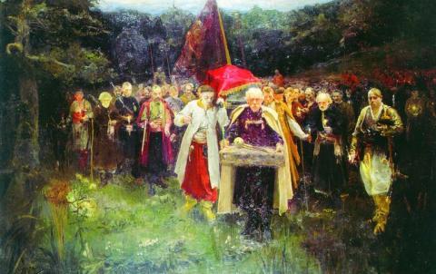 похорон кошового