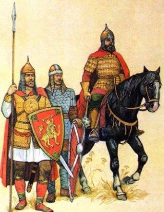 давньоруські воїни