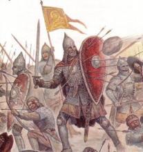 бій давніх русичів